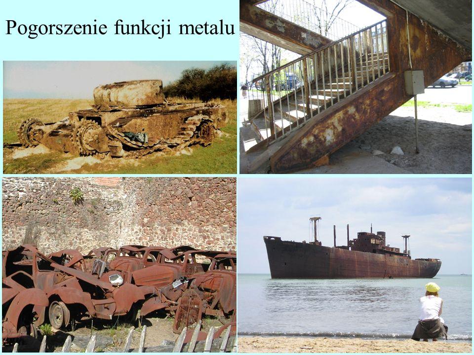 Pogorszenie funkcji metalu