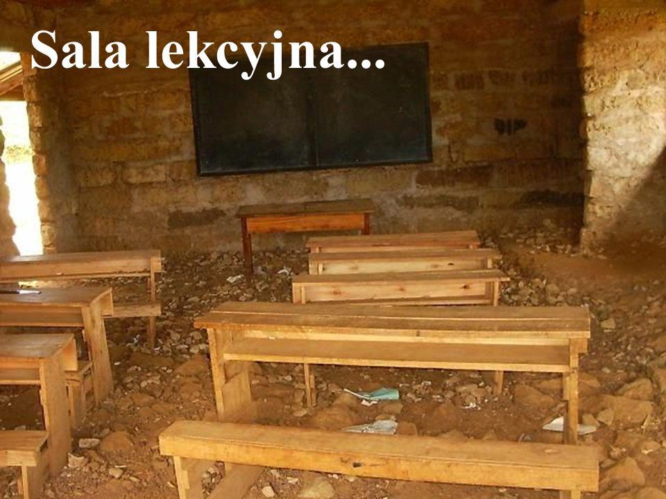 Sala lekcyjna...