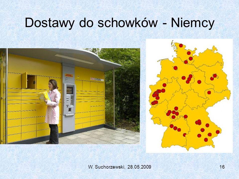 W. Suchorzewski, 28.05.200916 Dostawy do schowków - Niemcy