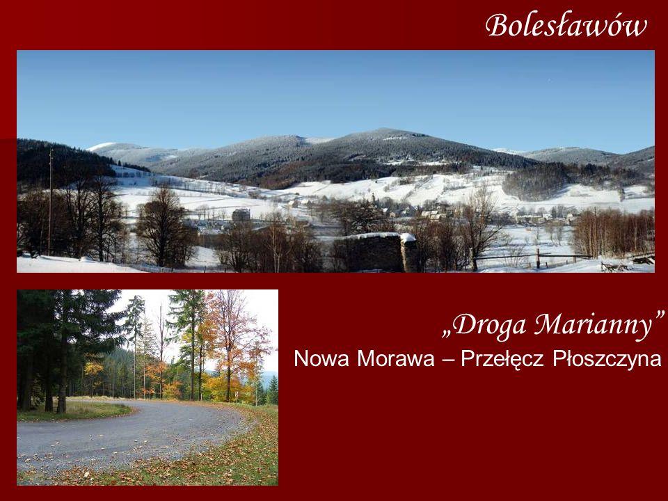 Bolesławów Droga Marianny Nowa Morawa – Przełęcz Płoszczyna