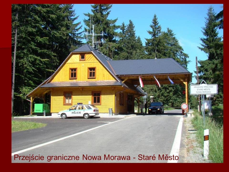 Przejście graniczne Nowa Morawa - Staré Město