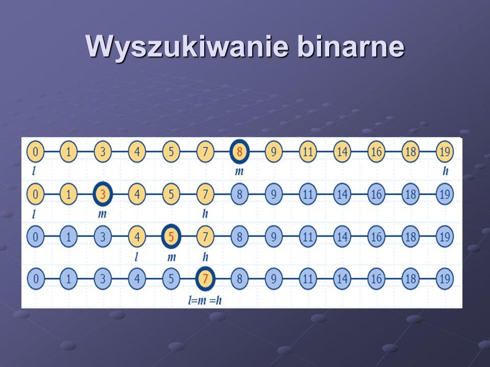 Wyszukiwanie binarne