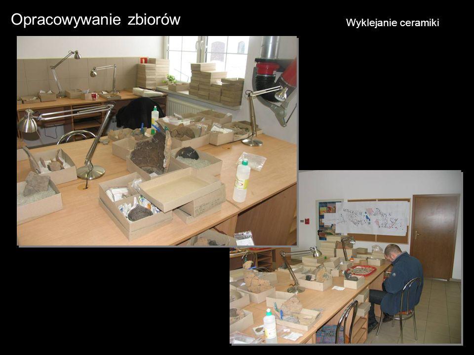Opracowywanie zbiorów Wyklejanie ceramiki