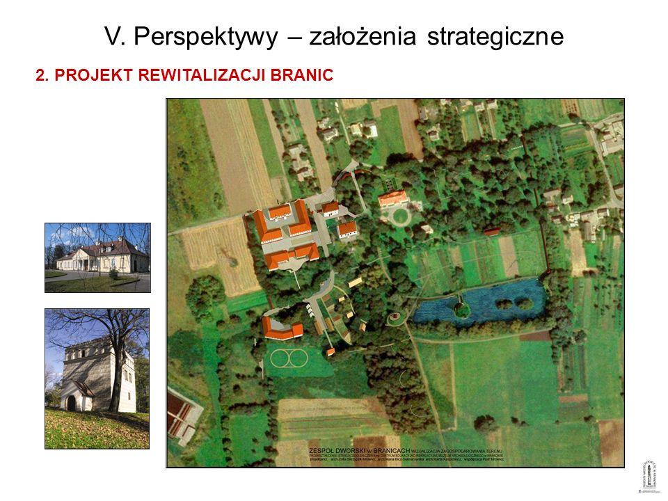 V. Perspektywy – założenia strategiczne 2. PROJEKT REWITALIZACJI BRANIC