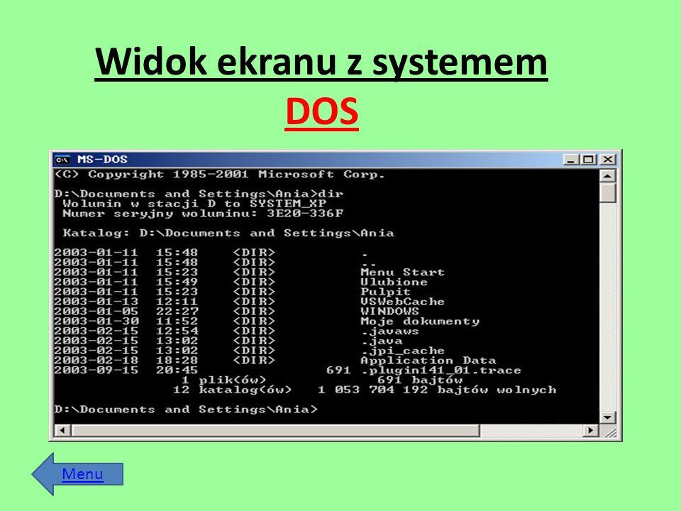 Menu Files - udostępnia operacje na plikach (większość dostępna z menu podstawowego) Commands - powiela funkcje dostępne z Alt-menu oraz udostępnia funkcje takie jak Swap panels - zamiana okien miejscami Panels on/off gaszenie/włączanie wyświetlania okien Compare directories - porównywanie zawartości katalogów wyświetlanych w oknach Menu file edit - redagowanie menu użytkownika Options Configuration - -w okienku screen blank ustawiamy czas spoczynku komputera po którym NC wygasi ekran - w okienku panel options można korzystając z funkcji show hidden files zadecydować czy NC ma pokazywać pliki ukryte.