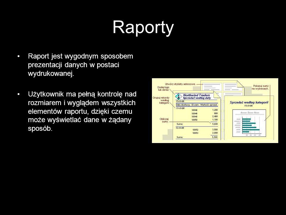 17 Budowanie aplikacji Definiowanie struktury danych: –definiowanie tablic (struktura, typy danych, klucz główny, ograniczenia, indeksy); –określenie relacji (więzów integralności); –wprowadzenie danych testowych.