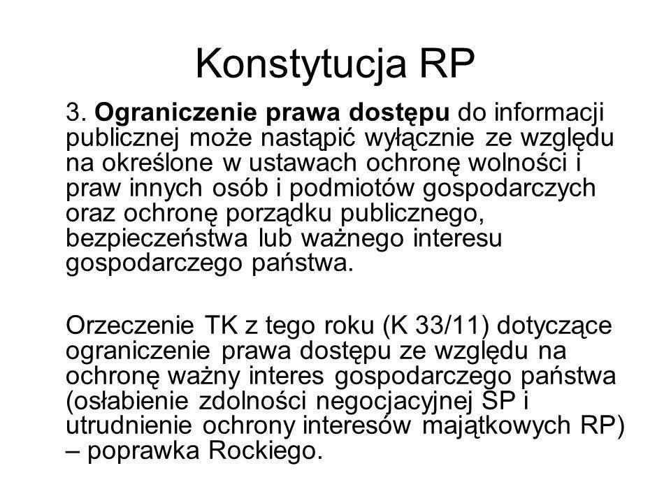 Informacja przetworzona Wyroku NSA I OSK 787/10 cd.