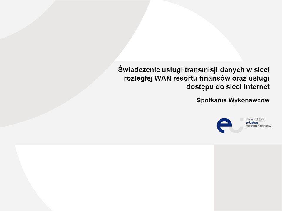 Agenda Powitanie uczestników Architektura obecnej sieci WAN MF Charakterystyka przedmiotu zamówienia Omówienie kalkulacji ceny w zakresie Internetu Omówienia kalkulacji ceny w zakresie Usługi Transmisji Danych Pytania wykonawców