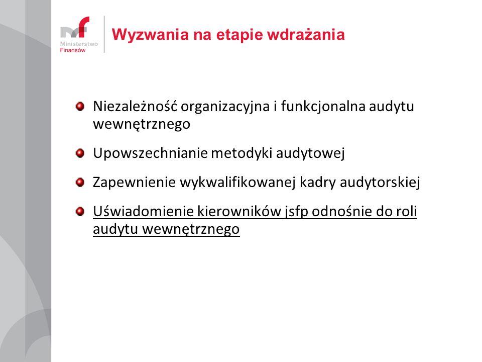 Najważniejsze zmiany systemowe Od 2006 r.