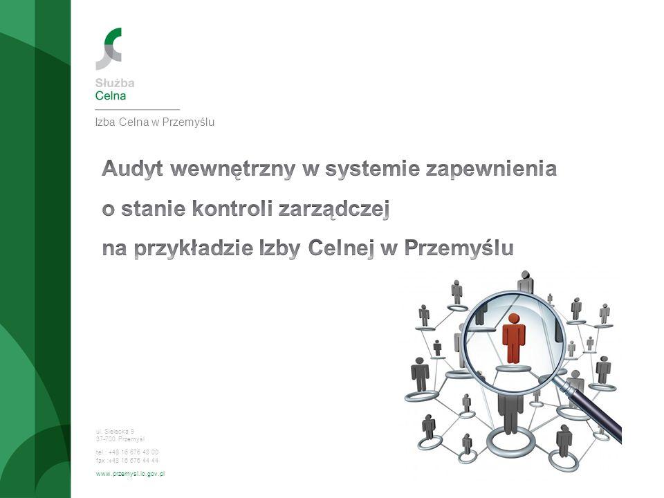 ul. Sielecka 9 37-700 Przemyśl tel.: +48 16 676 43 00 fax :+48 16 676 44 44 www.przemysl.ic.gov.pl Izba Celna w Przemyślu