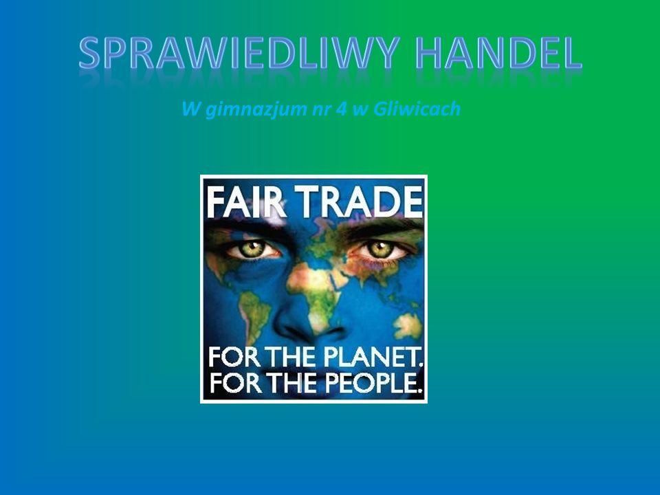 Sprawiedliwy handel (Fair trade) To międzynarodowy ruch konsumentów, organizacji pozarządowych, firm importerskich i handlowych oraz spółdzielni drobnych producentów, mający na celu pomoc w rozwoju drobnych wytwórców (rolników, rzemieślników) w krajach Trzeciego Świata, posługując się metodami wypracowanymi przez biznes, tworząc niezależny system handlowy o zasięgu globalnym.