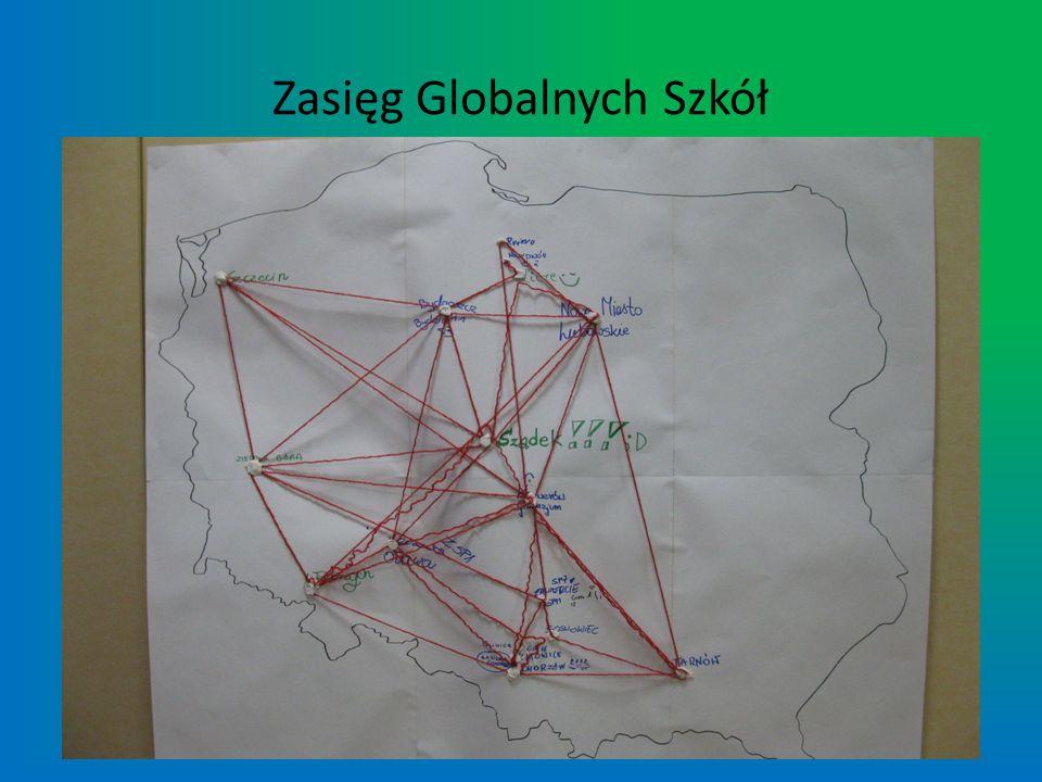 Zasięg Globalnych Szkół