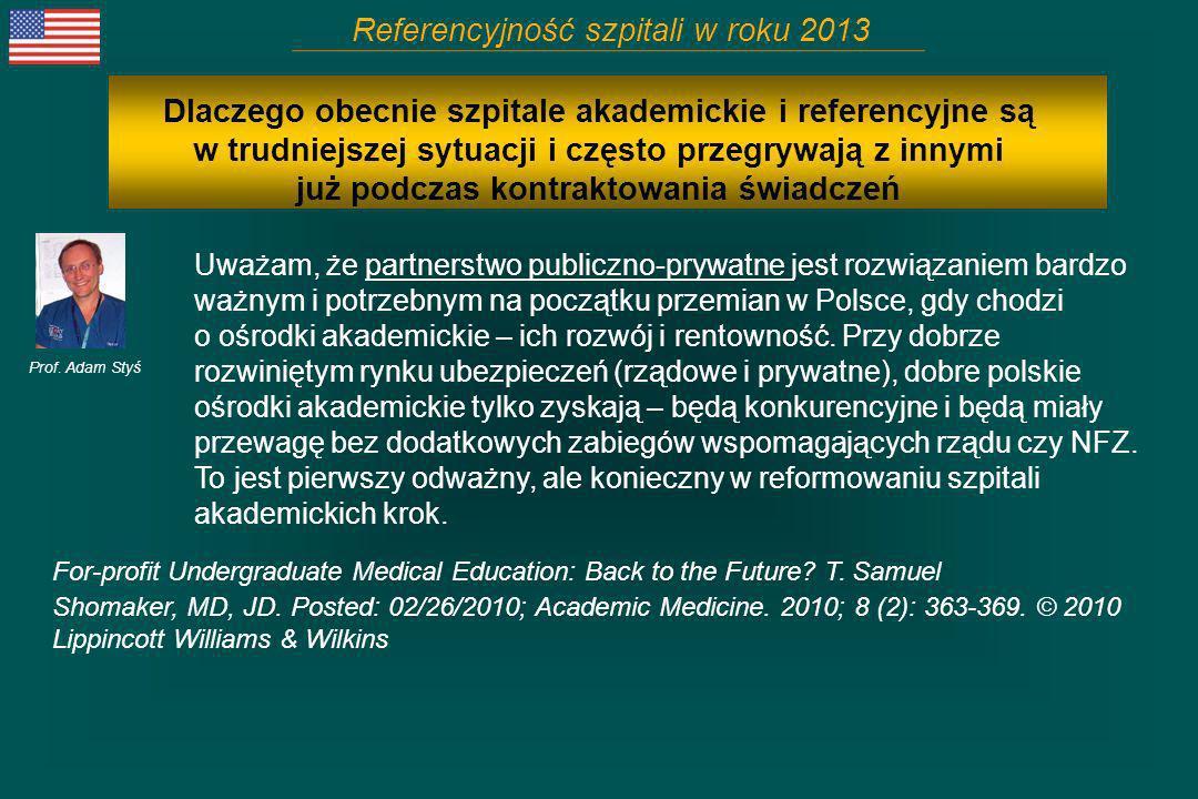 Uważam, że partnerstwo publiczno-prywatne jest rozwiązaniem bardzo ważnym i potrzebnym na początku przemian w Polsce, gdy chodzi o ośrodki akademickie
