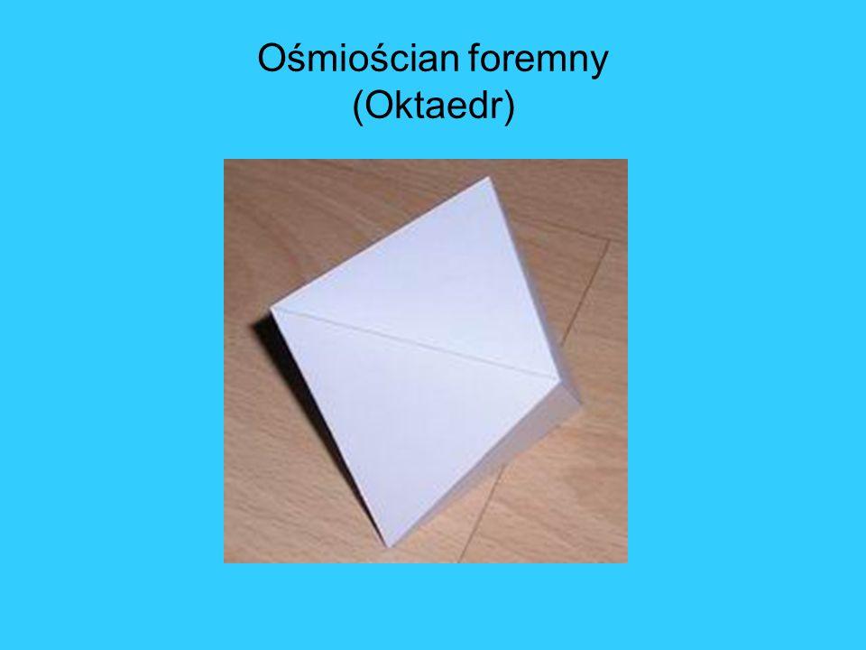 Ośmiościan foremny (Oktaedr)