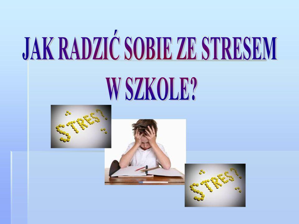 Stres towarzyszy nam każdego dnia z różnym natężeniem.