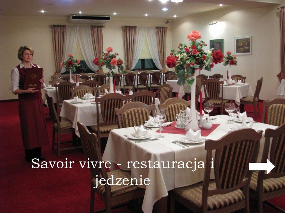 Savoir vivre - restauracja i jedzenie