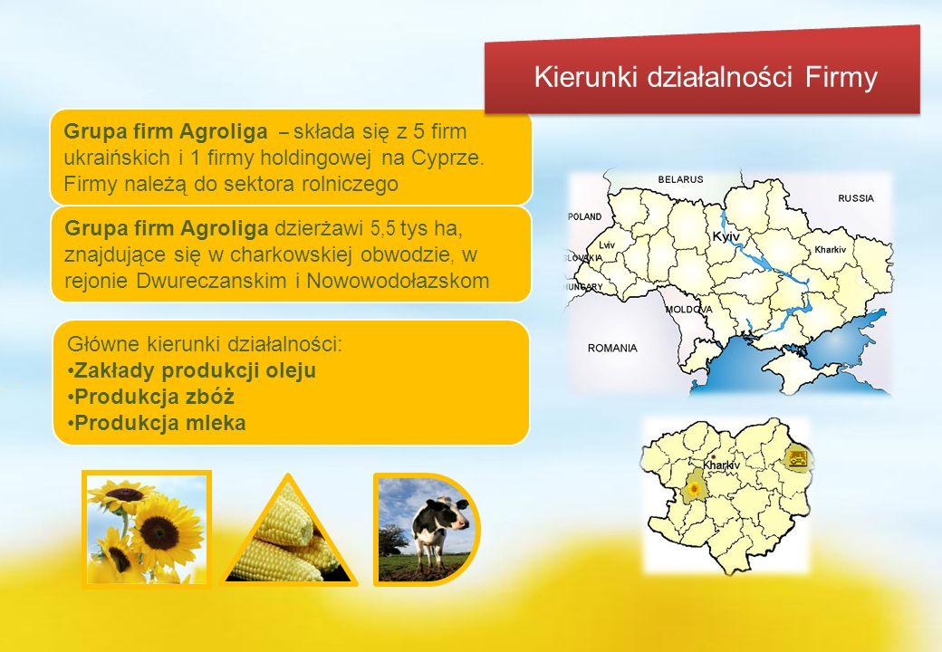 www.agroliga.com.ua1 Główne kierunki działalności: Zakłady produkcji oleju Produkcja zbóż Produkcja mleka Grupa firm Agroliga – składa się z 5 firm uk