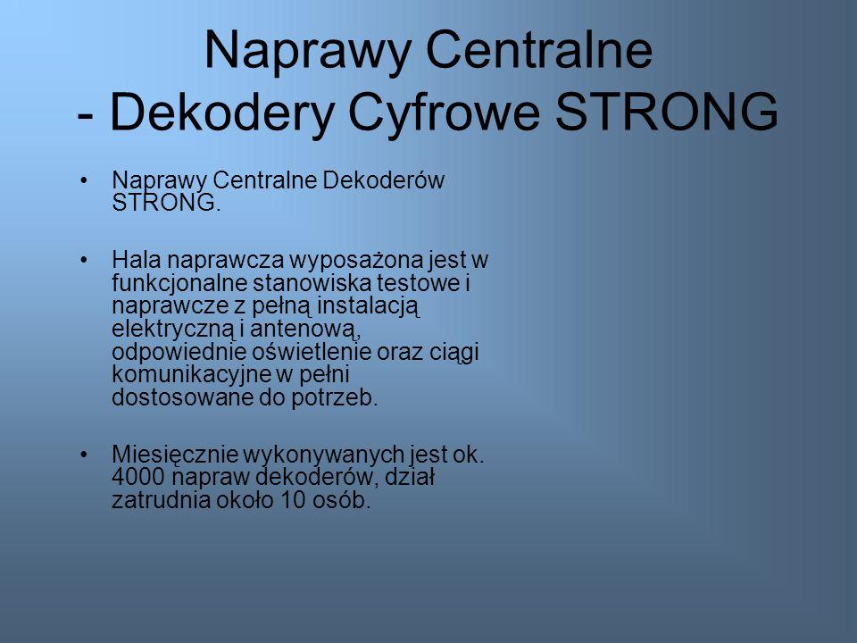 Naprawy Centralne - SONY Od Lipca 2009 roku prowadzimy ogólnopolski serwis centralny dla firmy SONY. Przedsięwzięcie to obejmuje naprawy gwarancyjne s