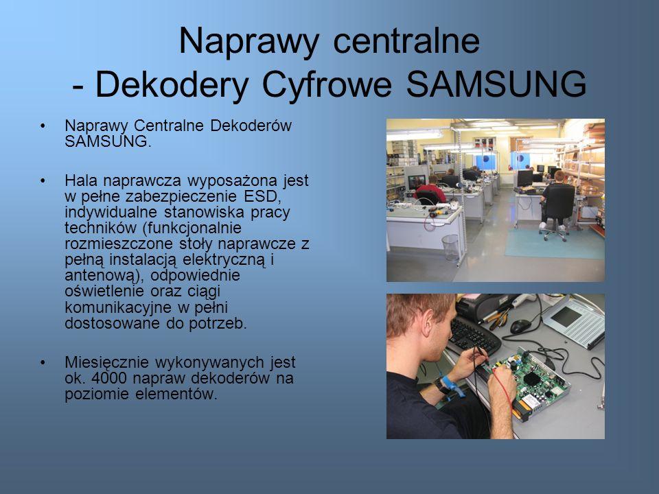 Naprawy centralne - Monitory LCD LG Wykonujemy naprawy centralne monitorów LG LCD. Sprostaliśmy wszystkim wymaganiom technicznym i przygotowaliśmy spe