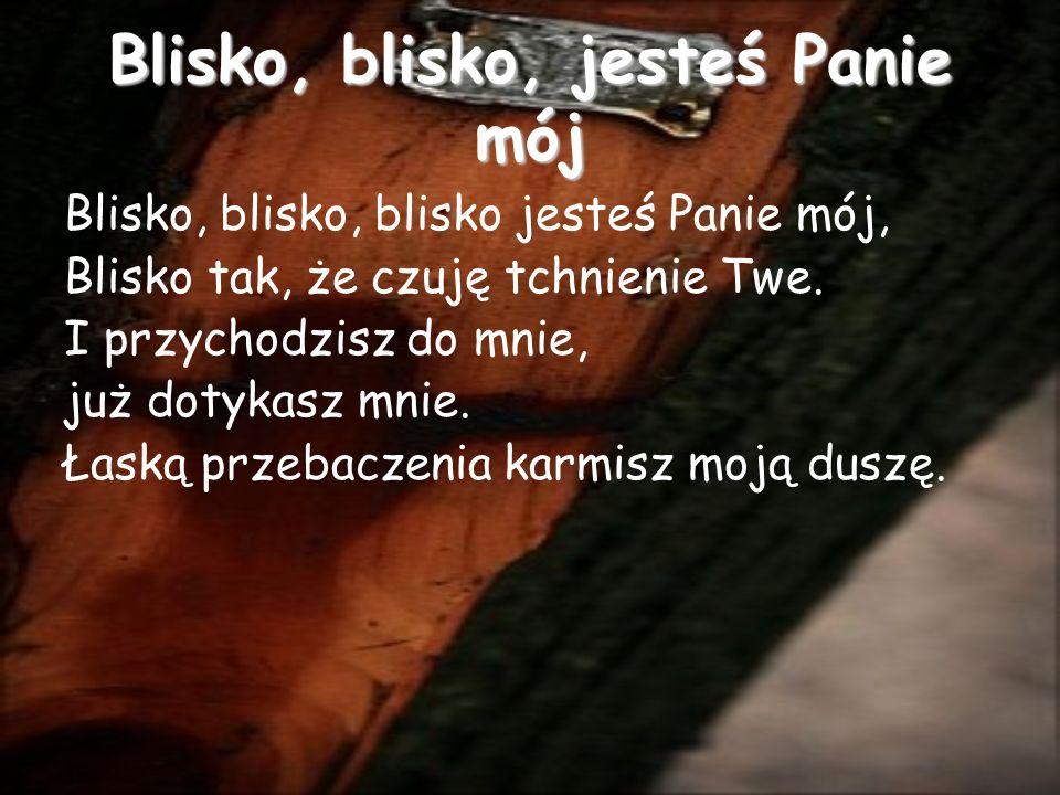 Jezus jest tu Jezus jest tu (2x) O wznieśmy ręce wielbiąc Jego Imię Jezus jest tu Pan jest wśród nas...