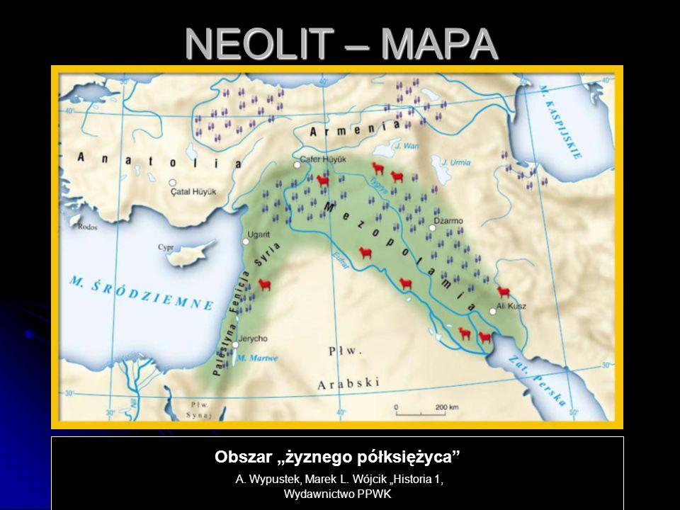NEOLIT W neolicie zaczęto uprawiać takie rośliny jak: pszenica, proso, jęczmień, groch, soczewica, żyto.