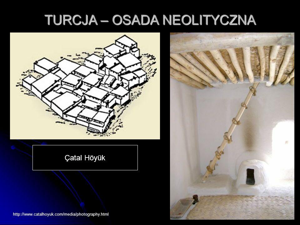 TURCJA – OSADA NEOLITYCZNA Çatal Höyük http://www.catalhoyuk.com/media/photography.html