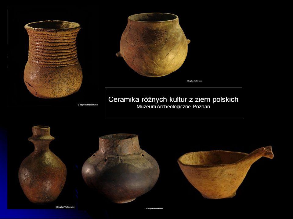 Ceramika różnych kultur z ziem polskich Muzeum Archeologiczne. Poznań