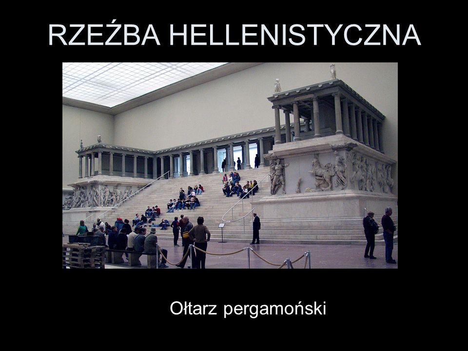 RZEŹBA HELLENISTYCZNA Ołtarz pergamoński