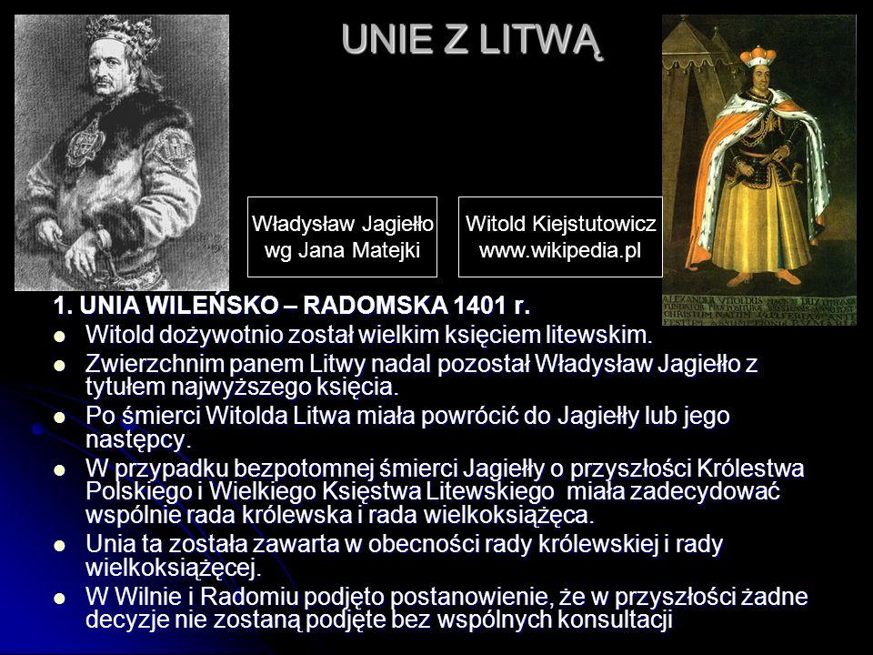 GENEZA WIELKIEJ WOJNY 1409 - 1411 Władysław Jagiełło zobowiązał się odzyskać wszystkie ziemie utracone przez Polskę, Władysław Jagiełło zobowiązał się odzyskać wszystkie ziemie utracone przez Polskę, Zakon Krzyżacki starał się zanegować prawdziwość chrztu Litwy.