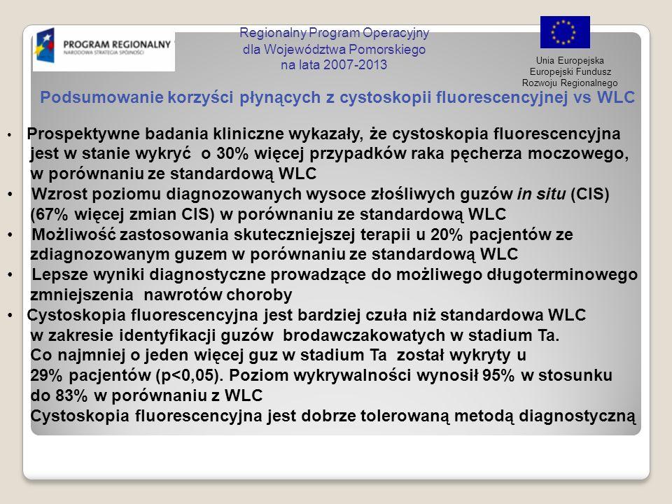 Regionalny Program Operacyjny dla Województwa Pomorskiego na lata 2007-2013 Unia Europejska Europejski Fundusz Rozwoju Regionalnego Podsumowanie korzy