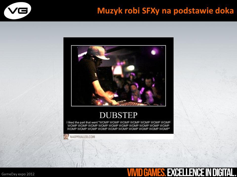 GameDay expo 2012 Muzyk robi SFXy na podstawie doka
