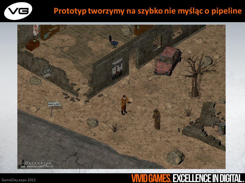 GameDay expo 2012 Prototyp tworzymy na szybko nie myśląc o pipeline