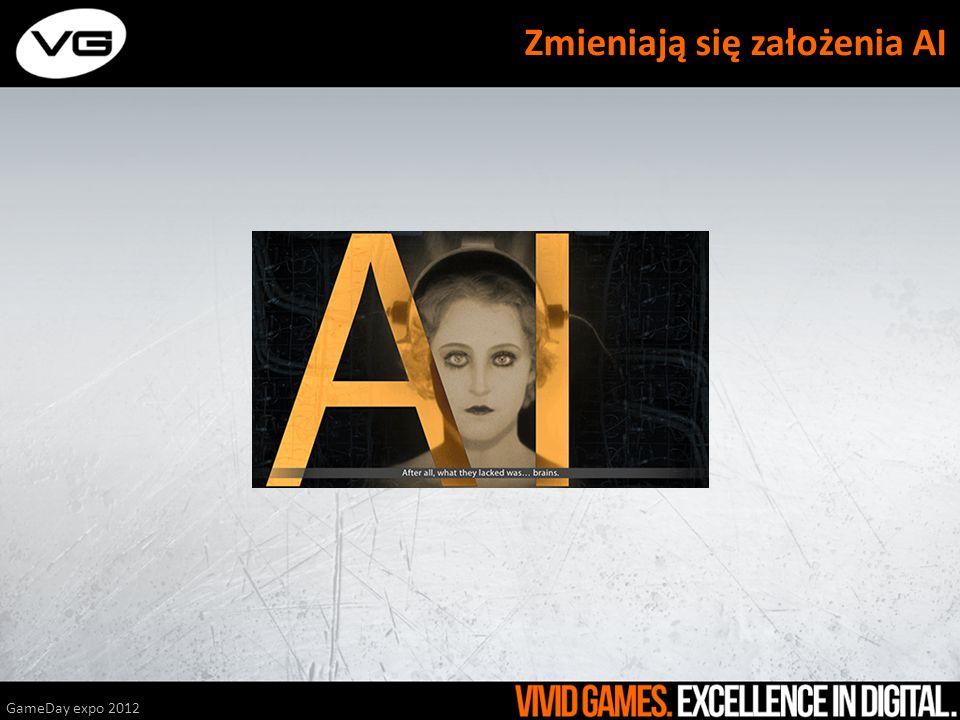 GameDay expo 2012 Zmieniają się założenia AI