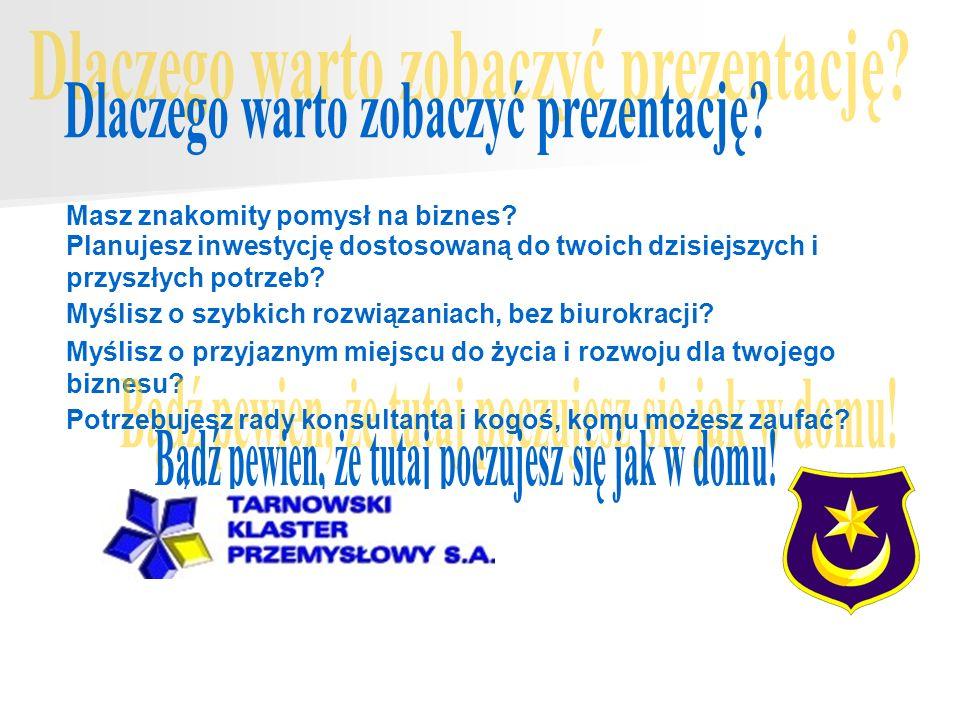 Misją Tarnowskiego Klastera Przemysłowego jest tworzenie możliwości lokalizacji, szybkiego uruchamiania i rozwoju zaplecza produkcyjnego przez firmy chcące inwestować w Tarnowie i okolicach.