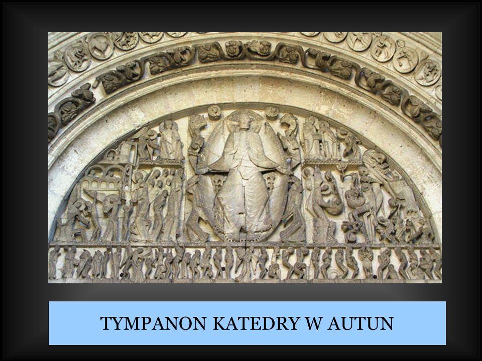 TYMPANON KATEDRY W AUTUN