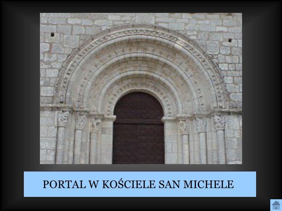PORTAL W KOŚCIELE SAN MICHELE