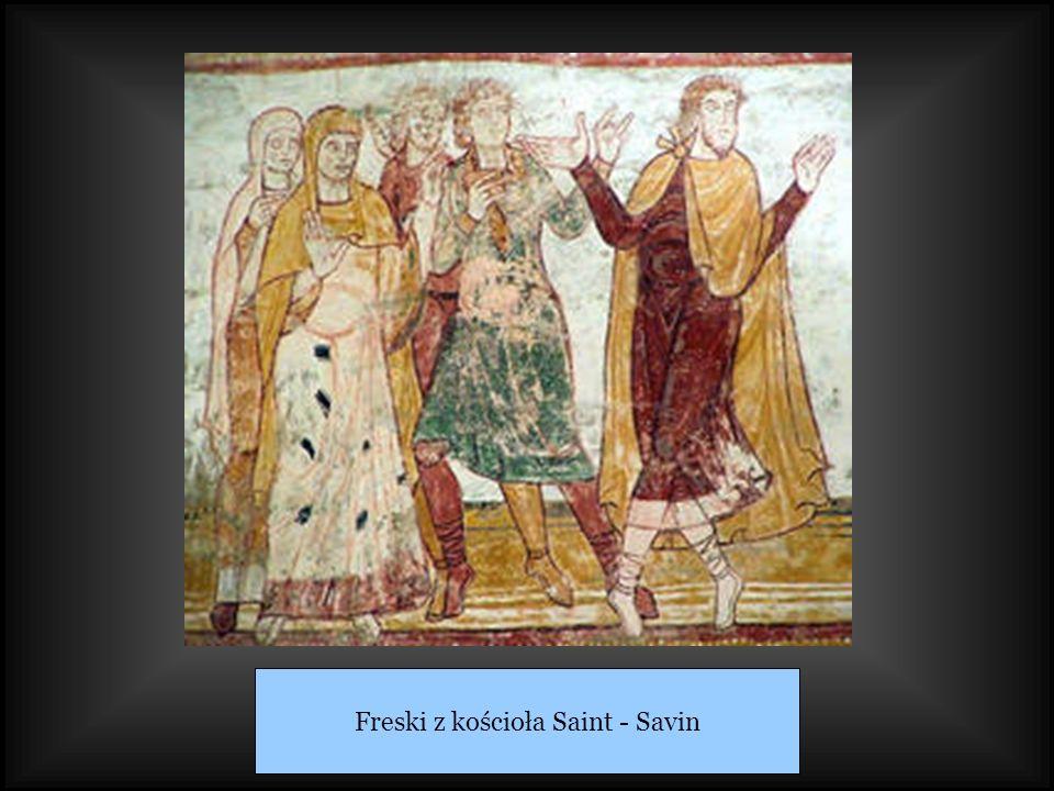 Freski z kościoła Saint - Savin