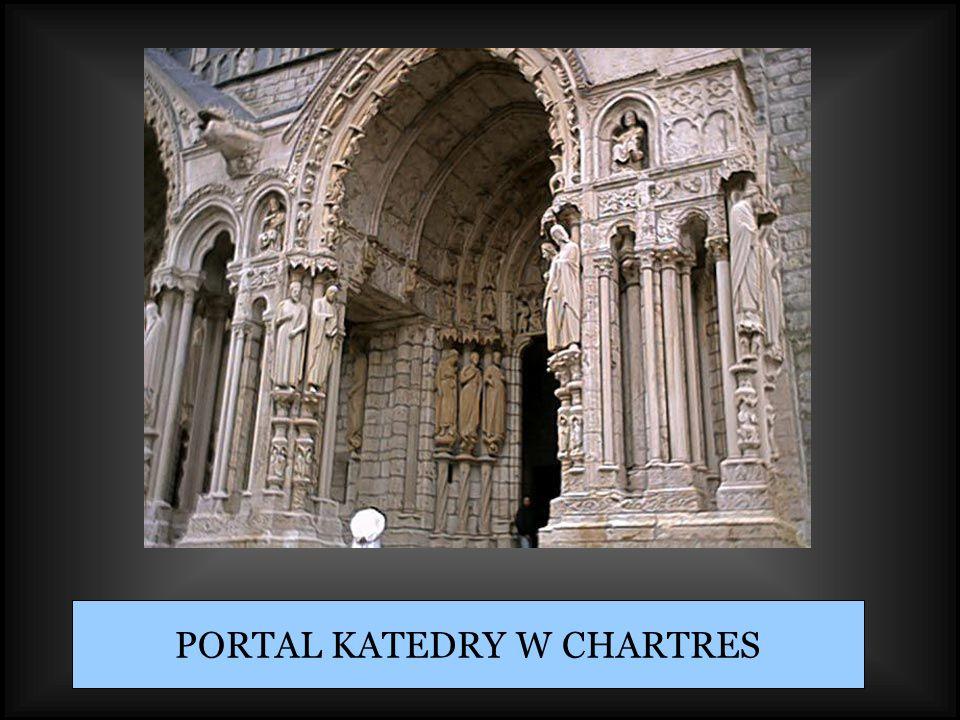 PORTAL KATEDRY W CHARTRES