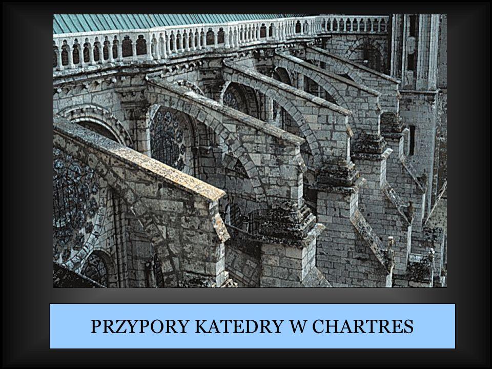 PRZYPORY KATEDRY W CHARTRES