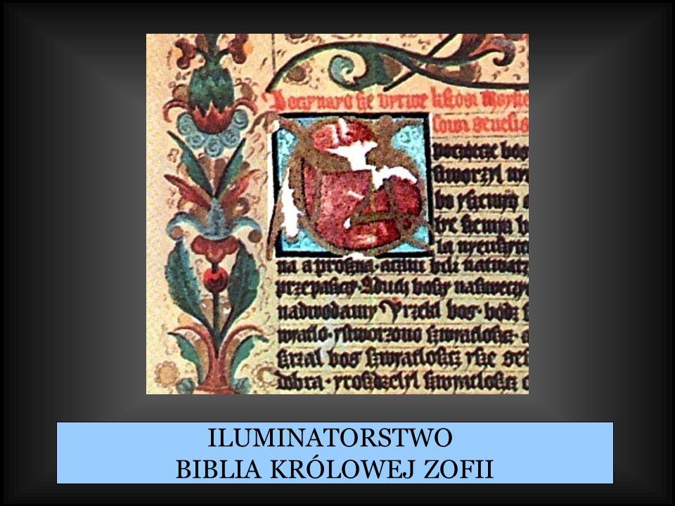 ILUMINATORSTWO BIBLIA KRÓLOWEJ ZOFII
