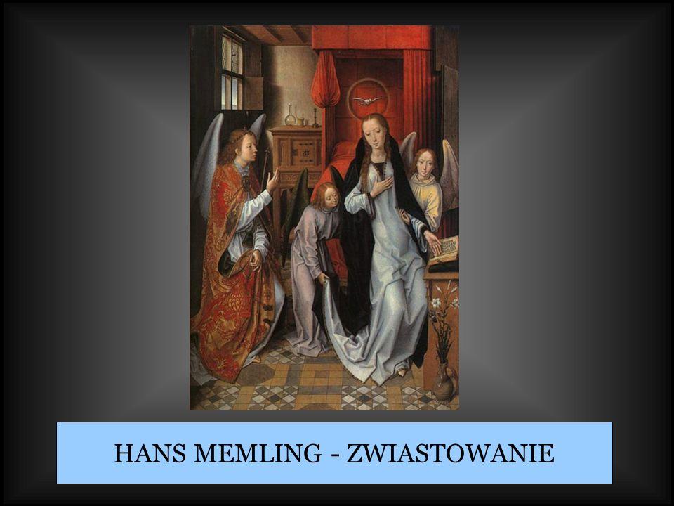HANS MEMLING - ZWIASTOWANIE