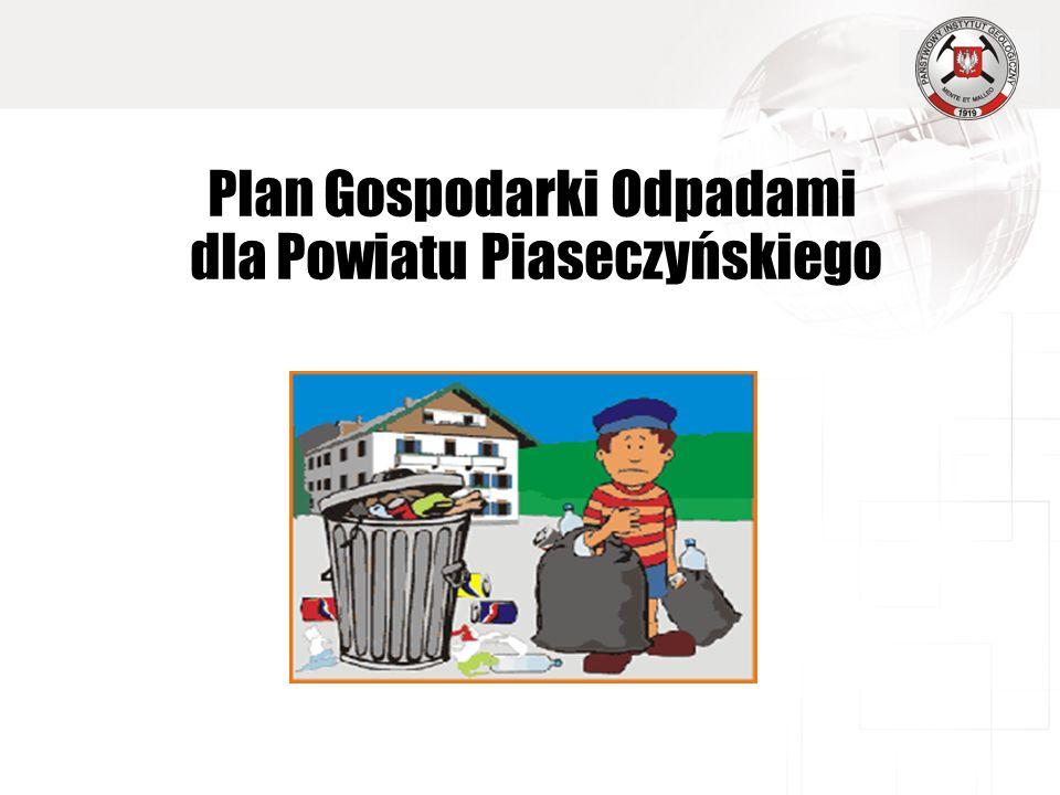 Plan Gospodarki Odpadami dla Powiatu Piaseczyńskiego