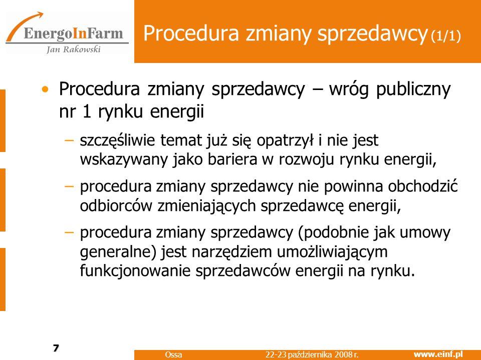 www.einf.pl 22-23 października 2008 r.