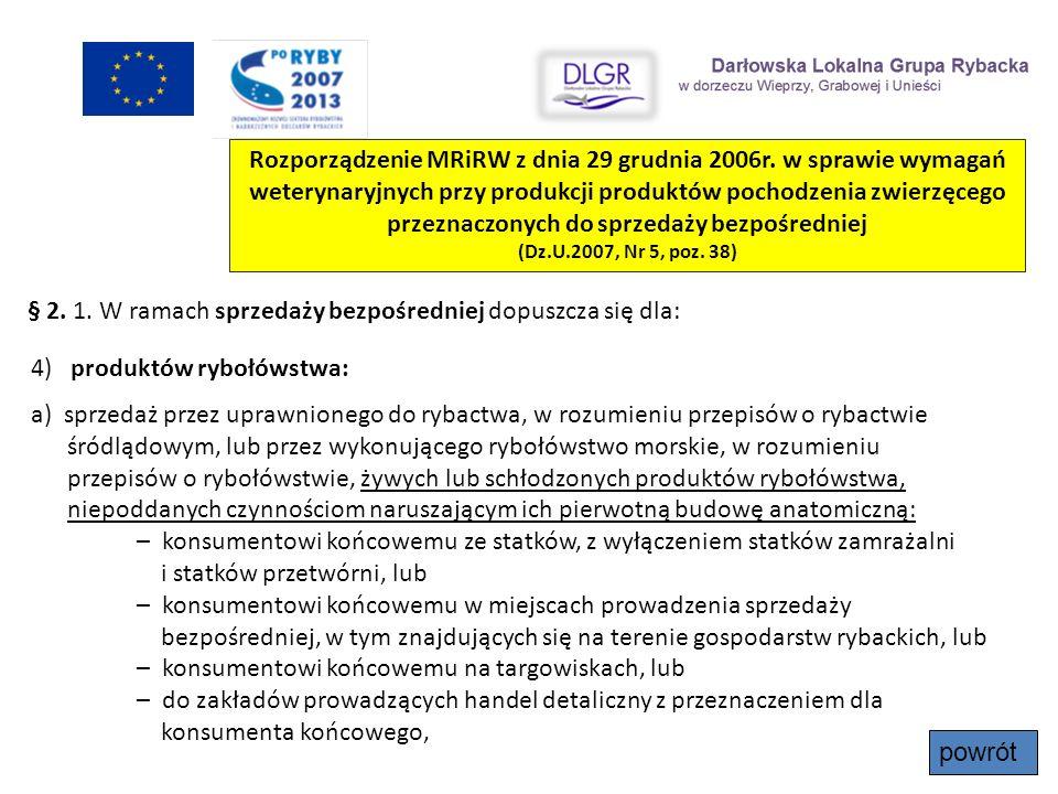 Rozporządzenie MRiRW z dnia 29 grudnia 2006r. w sprawie wymagań weterynaryjnych przy produkcji produktów pochodzenia zwierzęcego przeznaczonych do spr