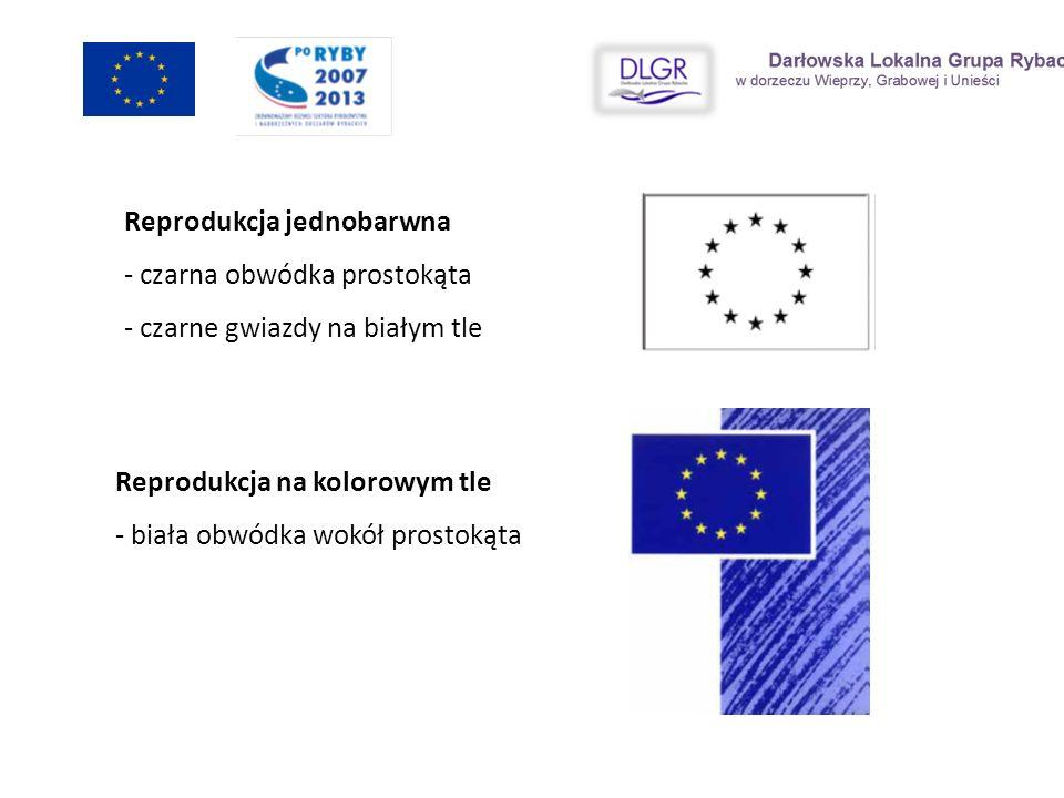 Operacja współfinansowana przez Unię Europejską ze środków finansowych Europejskiego Funduszu Rybackiego zapewniającą inwestycje w zrównoważone rybołówstwo Środki finansowe na realizację Lokalnej Strategii Rozwoju Obszarów Rybackich..………………………………..zł, (Nazwa lokalnej grupy rybackiej) Udział środków finansowych pochodzących z UE w operacji: ……………………………..