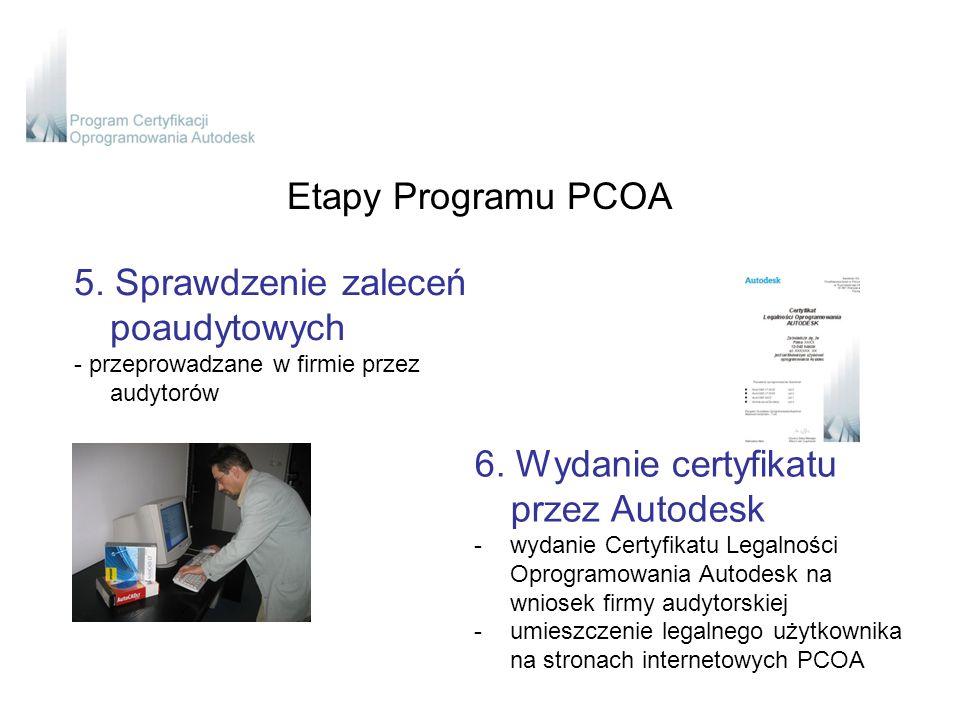 Etapy Programu PCOA 5.
