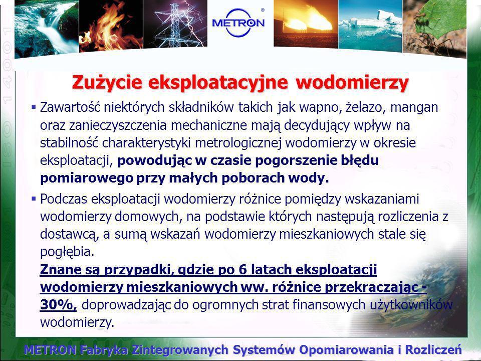 METRON Fabryka Zintegrowanych Systemów Opomiarowania i Rozliczeń Dlaczego nie przestrzeganie okresów ponownej legalizacji wodomierzy pogłębia problemy