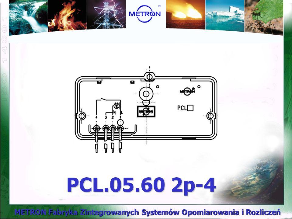 METRON Fabryka Zintegrowanych Systemów Opomiarowania i Rozliczeń PCL.05.60 2p-4