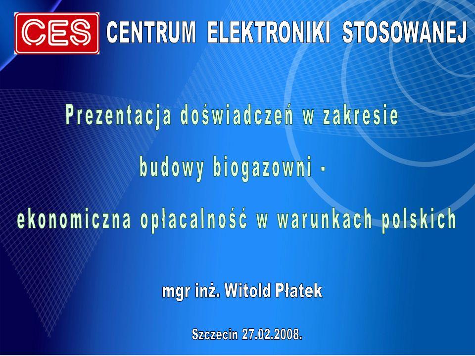 Przykład 3 Produkcja biogazu: śr.st.