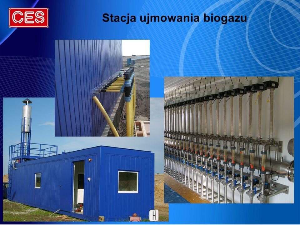 Stacja ujmowania biogazu
